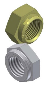 Collar Plus and Thin Collar Locknut Flange